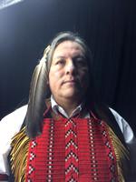 Tonweya Tokaheya - Dakota Goodhouse Captured in Wet Plate