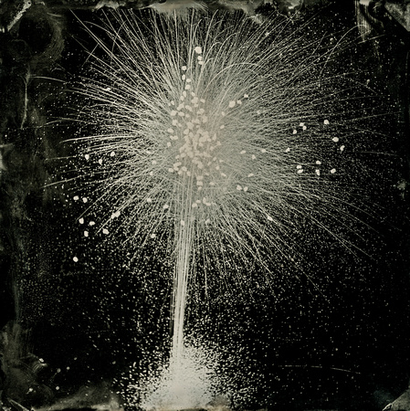 Wet Plate Collodion Fireworks