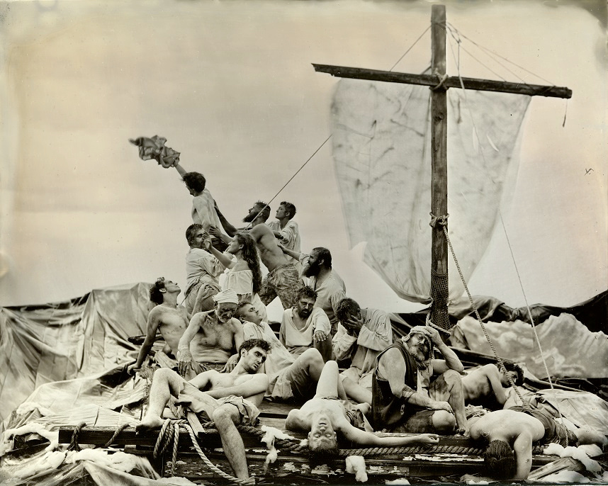The Capsizing of Humanity - The Raft of the Medusa