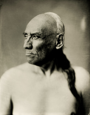 Crazy Horse Wet Plate Collodion