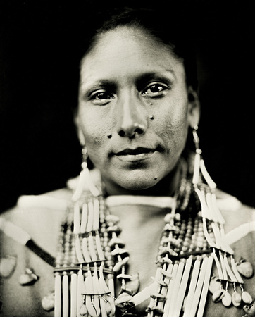 Native American Wet Plate Collodion by Shane Balkowitsch