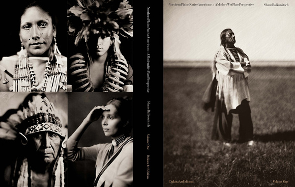 Northern Plains Native Americans: A Modern Wet Plate Perspective (Volume 1)