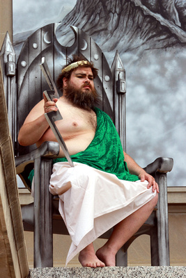 """Behind the Scenes of """"The Throne of Gods"""""""