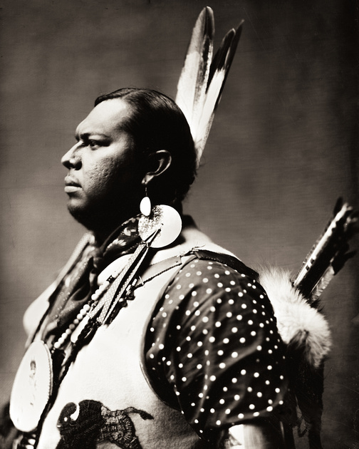 Great Great Great Grandson of Sitting Bull