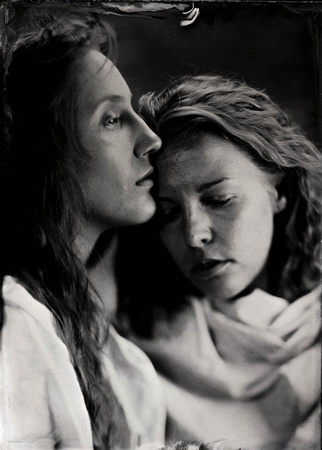 """""""The Kiss of Peace"""" by Julia Margaret Cameron was taken in 1869"""